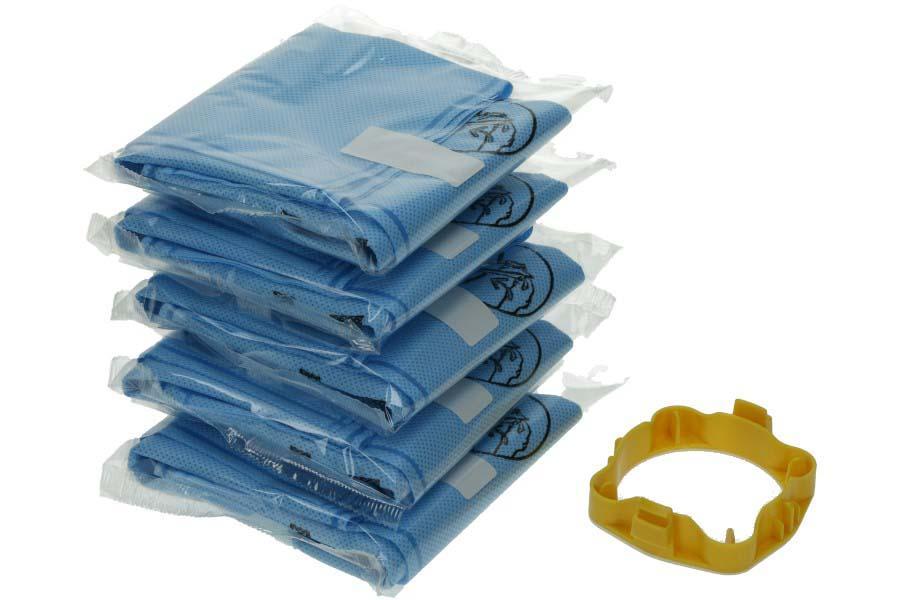 Pack Of 5 Calor Moulinex Rowenta Universal Wonderbag Mint Aroma Vacuum Bags