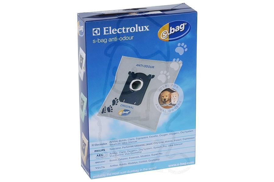 electrolux s bag anti odour sacs pour aspirateur e203b. Black Bedroom Furniture Sets. Home Design Ideas