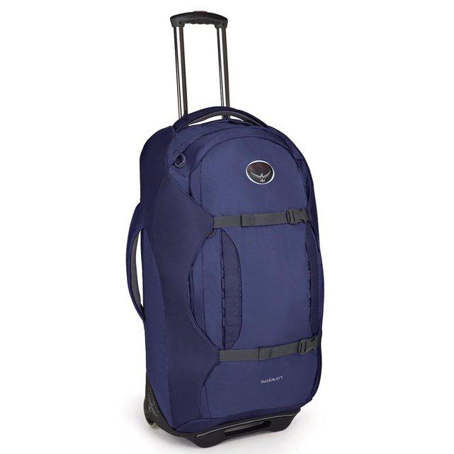 osprey valise sojourn 80 valise roulante bleu. Black Bedroom Furniture Sets. Home Design Ideas
