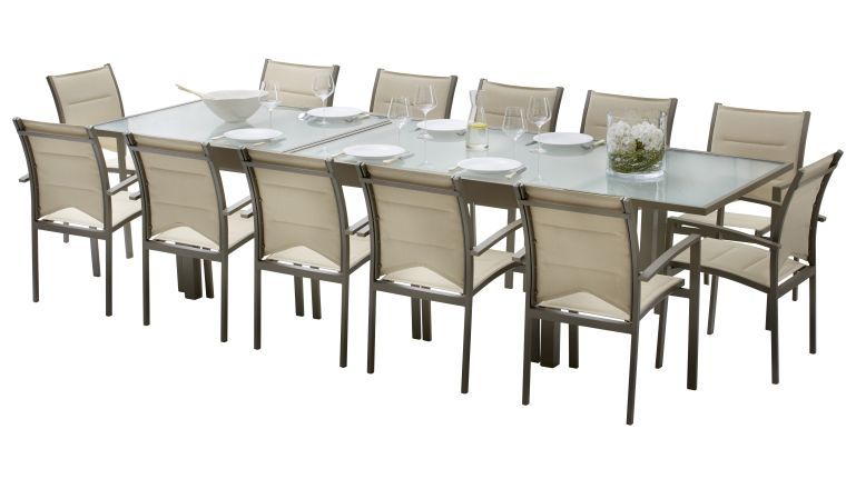 Stunning Grande Table De Jardin Avec Rallonge Pictures - Design