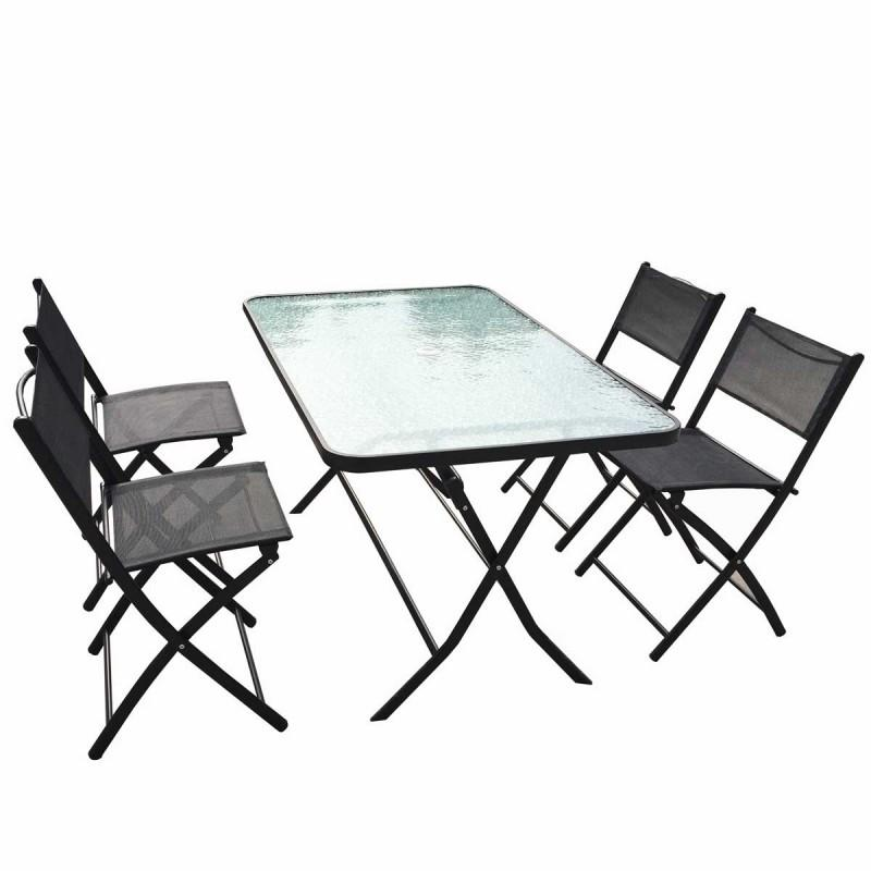 Catgorie table de jardin du guide et comparateur d 39 achat - Table pliante 4 chaises integrees ...