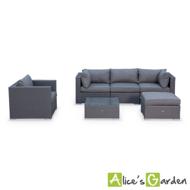 alice c s garden salon de jardin table en r sine tress. Black Bedroom Furniture Sets. Home Design Ideas