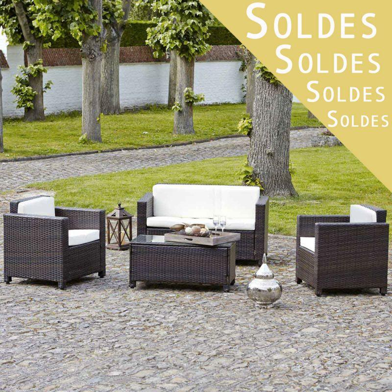 beautiful salon de jardin resine tressee soldes ideas. Black Bedroom Furniture Sets. Home Design Ideas