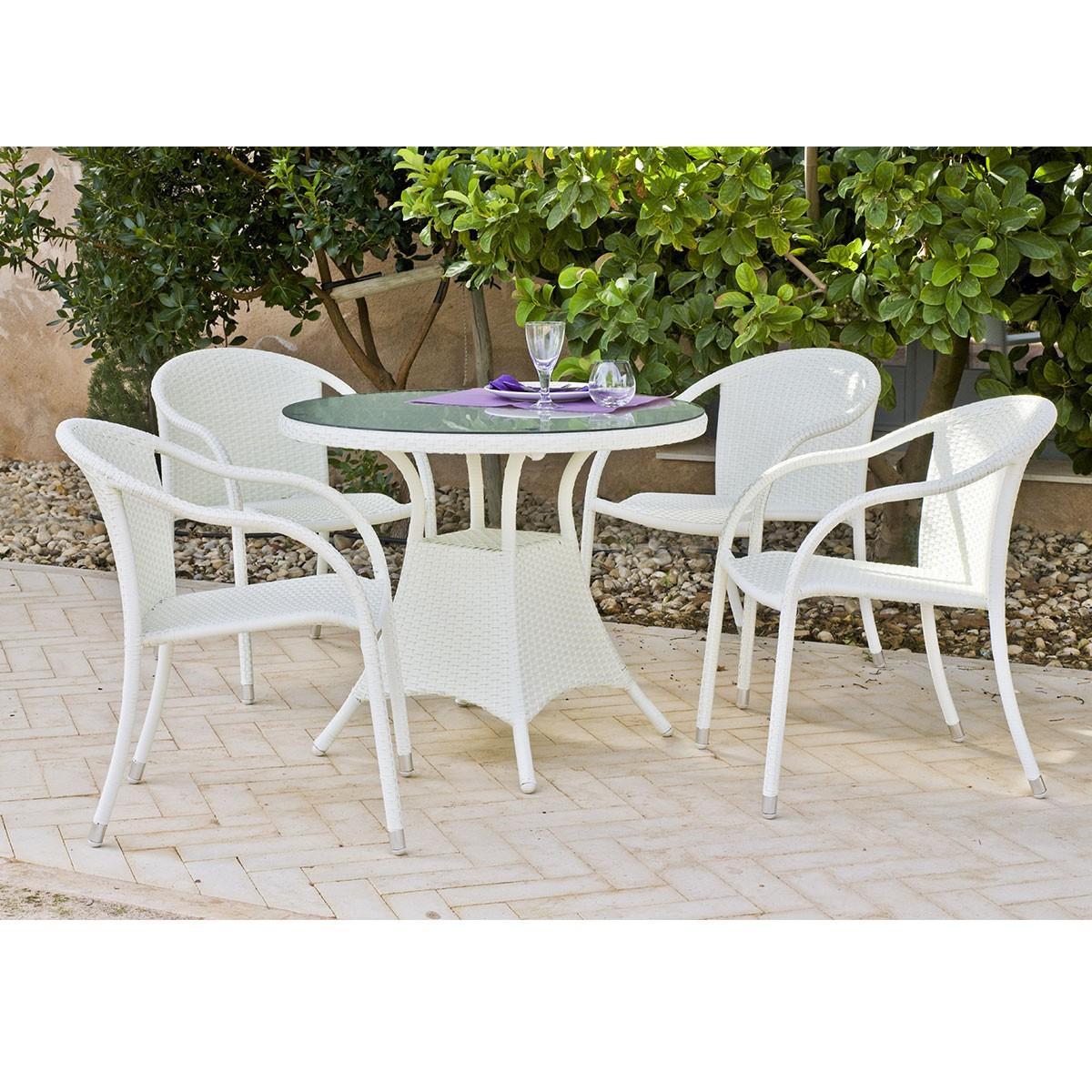 Beautiful table de jardin en bois massif suisse for Fauteuil table a manger