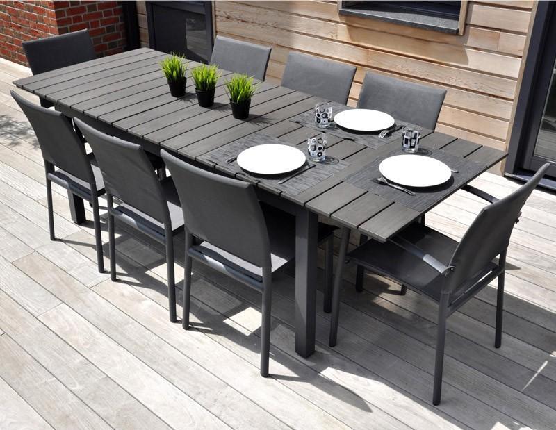 Catgorie salon de jardin du guide et comparateur d 39 achat Salon jardin aluminium castorama