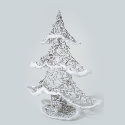 Sapin De Noel Bleu Artificiel Decoration Inclus
