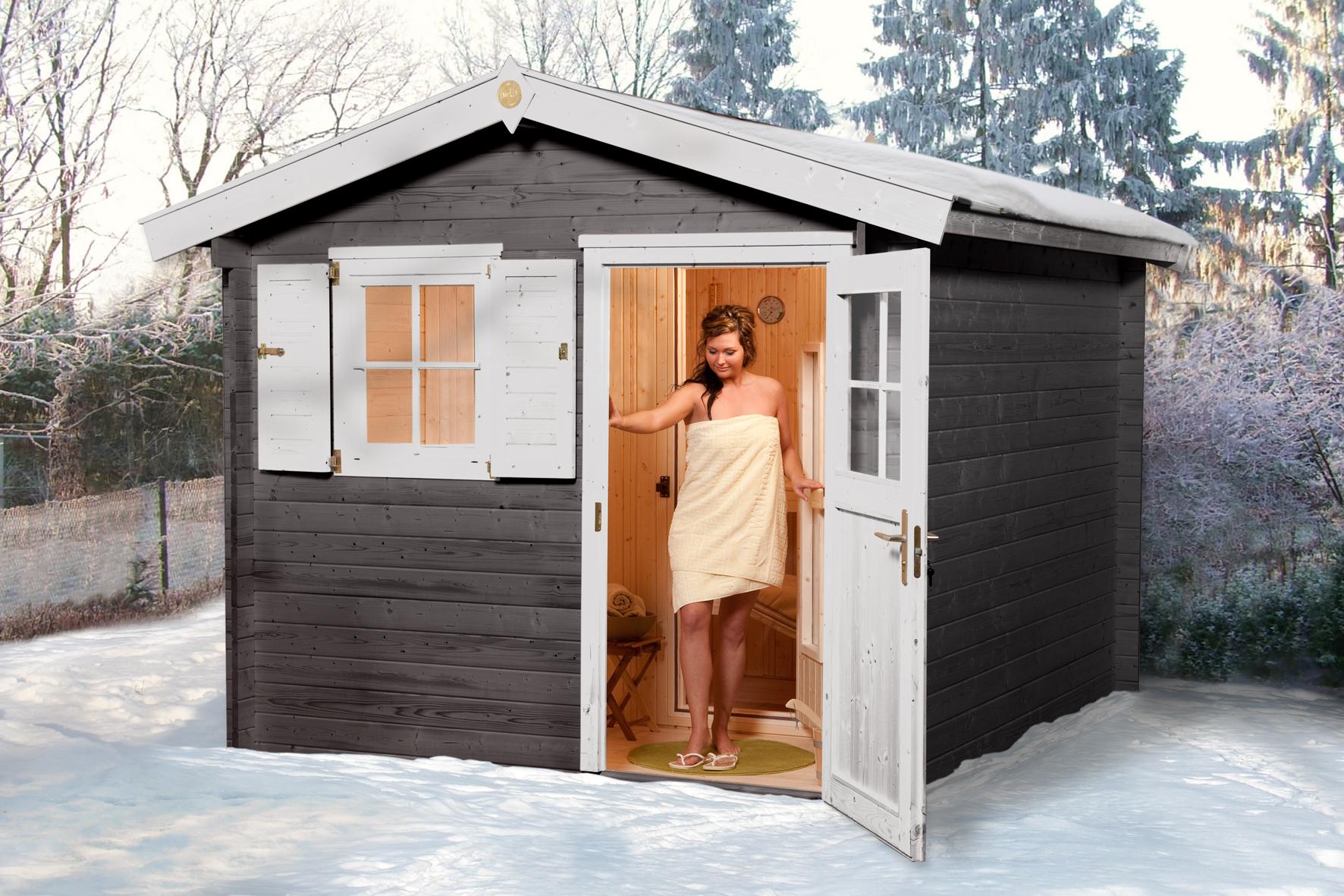 Weka csauna vapeur extrieur mikkeli 1 for Sauna infrarouge exterieur