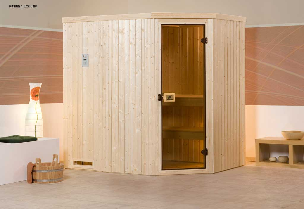 weka sauna vapeur kasala 1 angle exklusiv. Black Bedroom Furniture Sets. Home Design Ideas