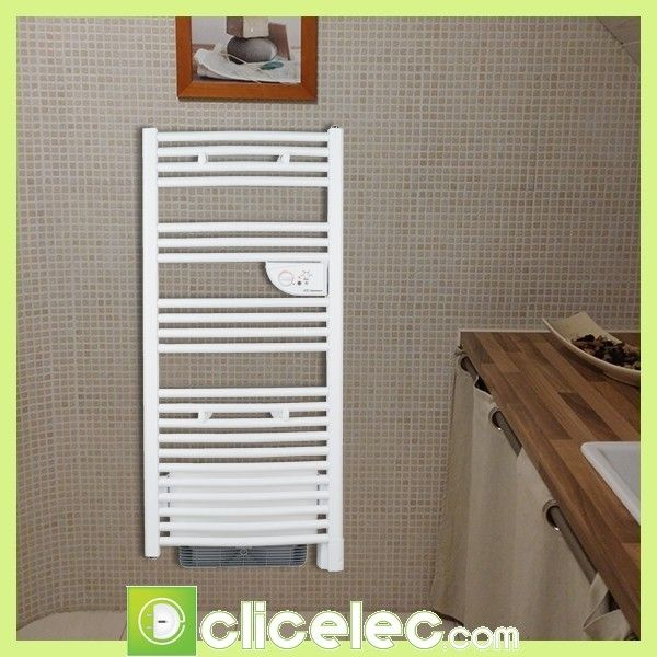 Thermor cs che serviettes riva 2 mixte 1750 585 w for Seche serviette mixte avec soufflerie