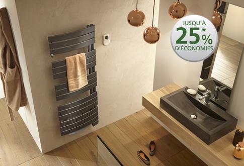 atlantic radiateur seche serviettes nefertiti 2 mixte vent. Black Bedroom Furniture Sets. Home Design Ideas