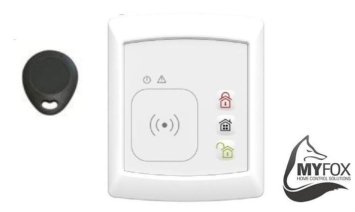 myfox clavier extrieur avec badge catgorie alarme de maison. Black Bedroom Furniture Sets. Home Design Ideas