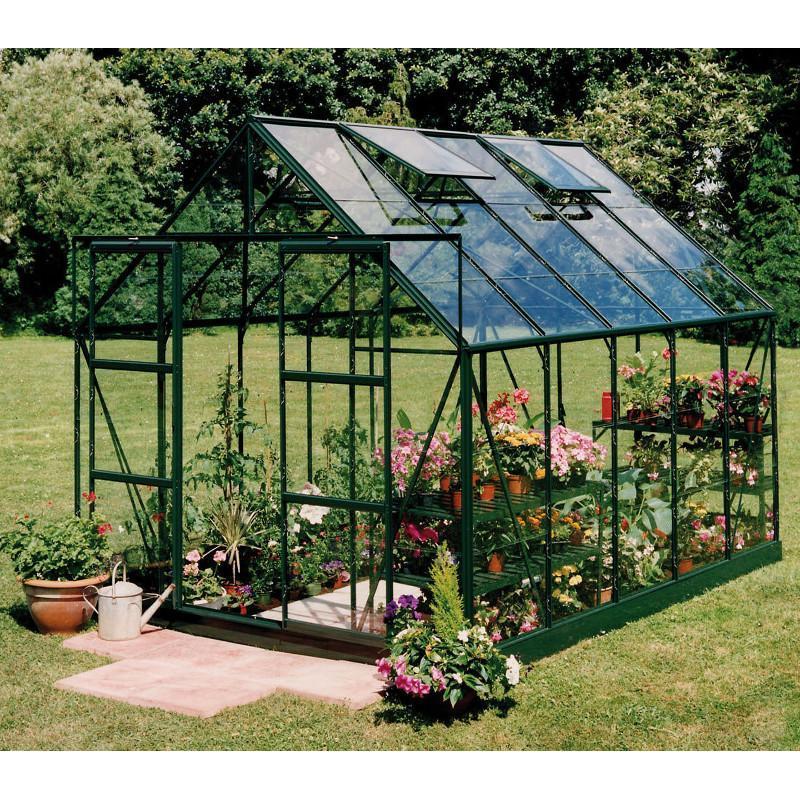 Serre polycarbonate 9m2 maison design - Serre de jardin polycarbonate pas cher ...