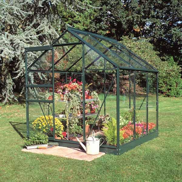 Eden Serre de jardin Suprême 8.3m² en aluminium et verre trempé 3mm ...