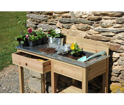 jany table de rempotage en bois. Black Bedroom Furniture Sets. Home Design Ideas