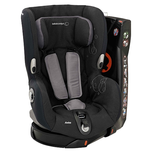 Bebe confort axiss total black for Siege auto bebe solde