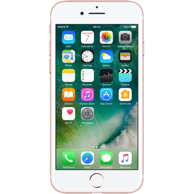 smartphone apple iphone 7 rose gold 128 go. Black Bedroom Furniture Sets. Home Design Ideas