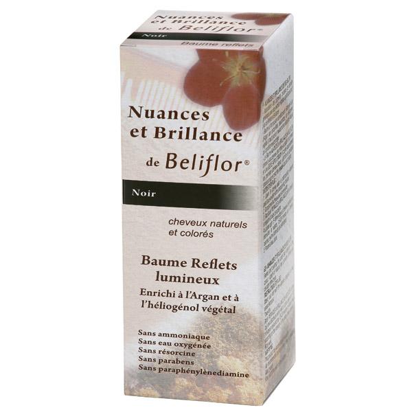 c coloration baume reflets noir - Beliflor Coloration