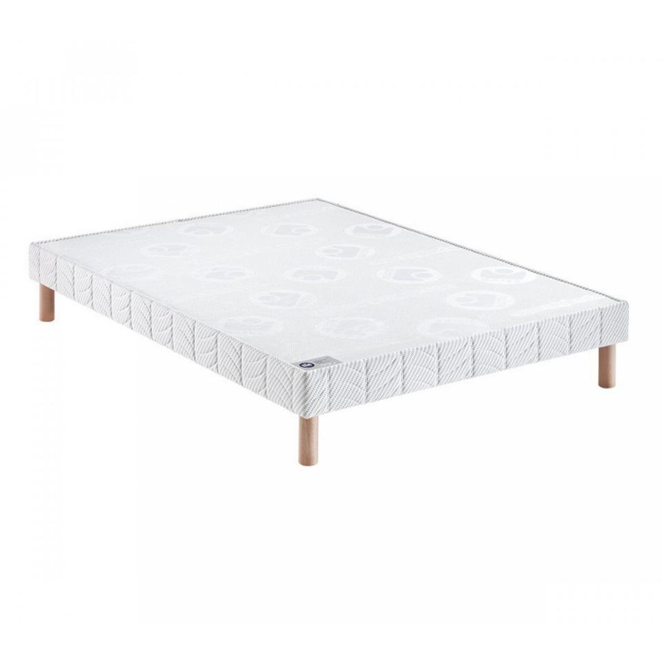 bultex sommier tapissier confort ferme pieds 90x200 catgorie. Black Bedroom Furniture Sets. Home Design Ideas