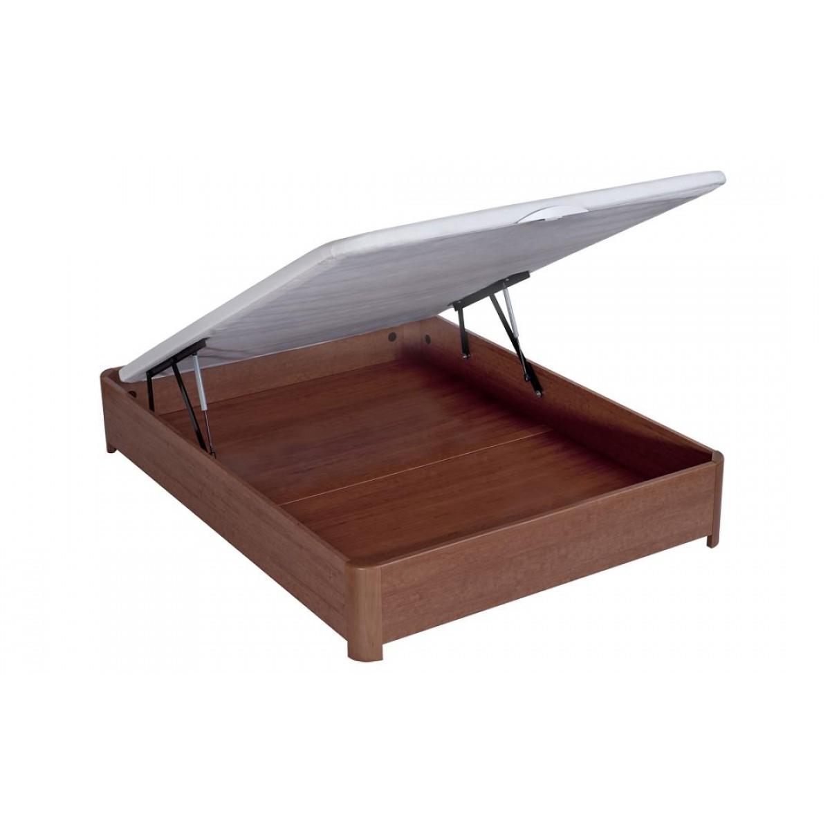 bultex sommier coffre madera weng 120x190 cat gorie. Black Bedroom Furniture Sets. Home Design Ideas