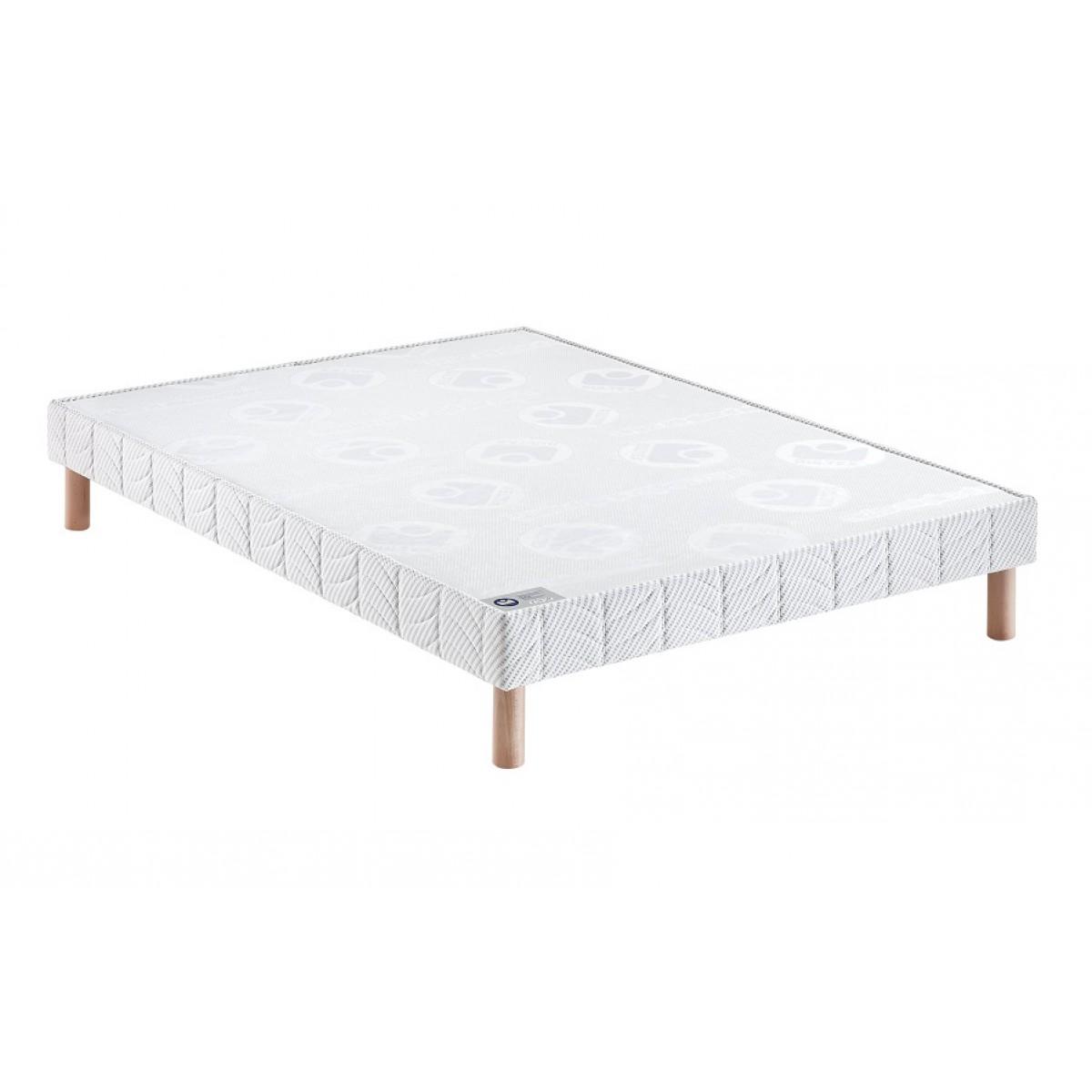 Bultex sommier tapissier confort ferme pieds 150x190 - Pieds sommier bultex ...