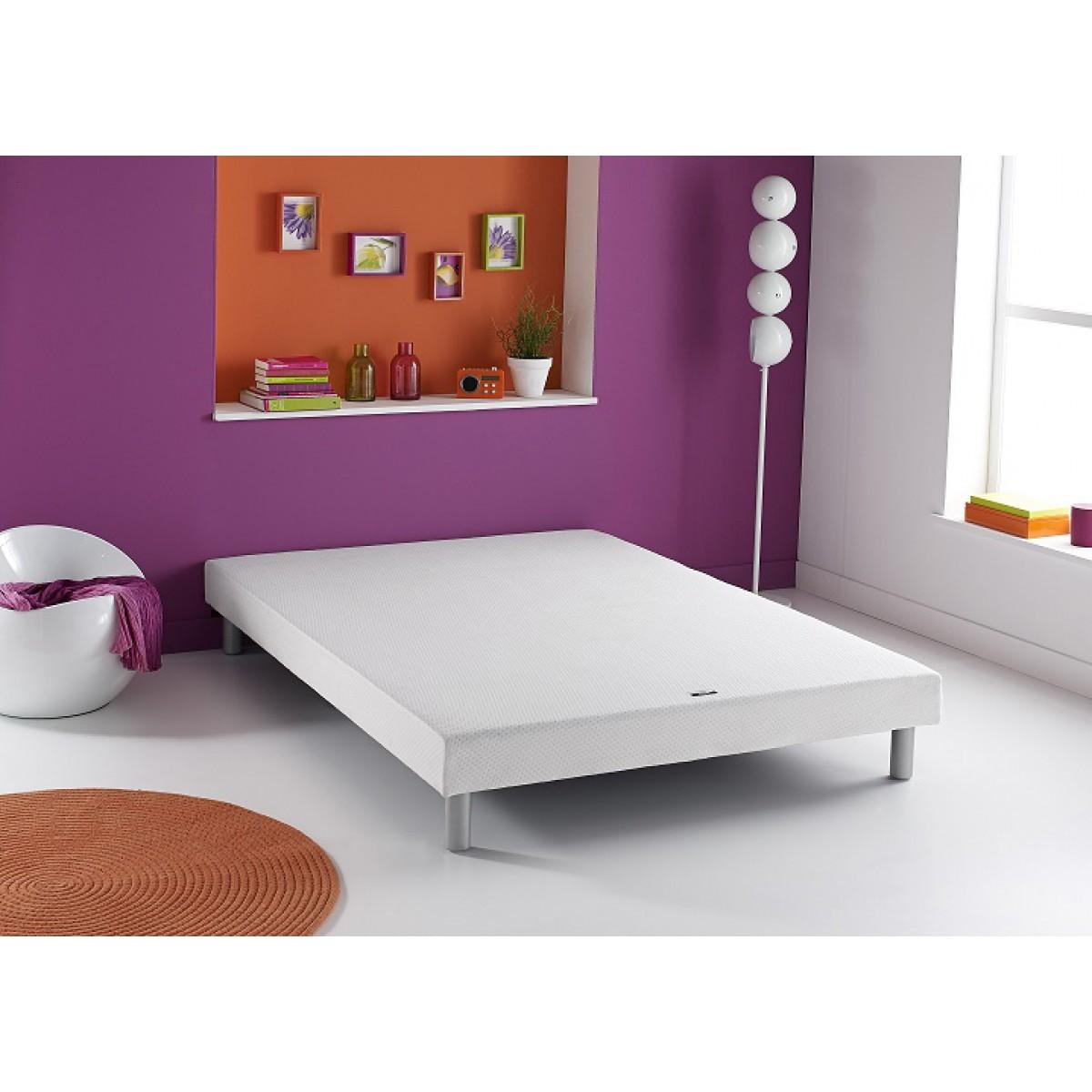 dunlopillo csommier dunlosum pieds 90x200. Black Bedroom Furniture Sets. Home Design Ideas