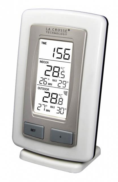 La station temp rature int rieur ext rieur ws9245 b for Temperature exterieur