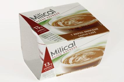 milical coupelle repas express 1 repas saveur caf 210g. Black Bedroom Furniture Sets. Home Design Ideas