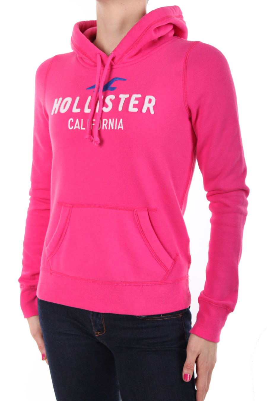 hollister hoodie sweat capuche by abercrombie rose. Black Bedroom Furniture Sets. Home Design Ideas