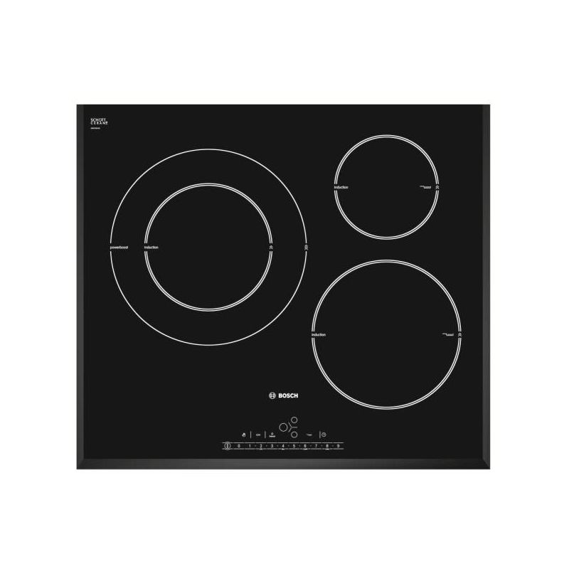 Bosch pik651f27e induction for Table induction bosch