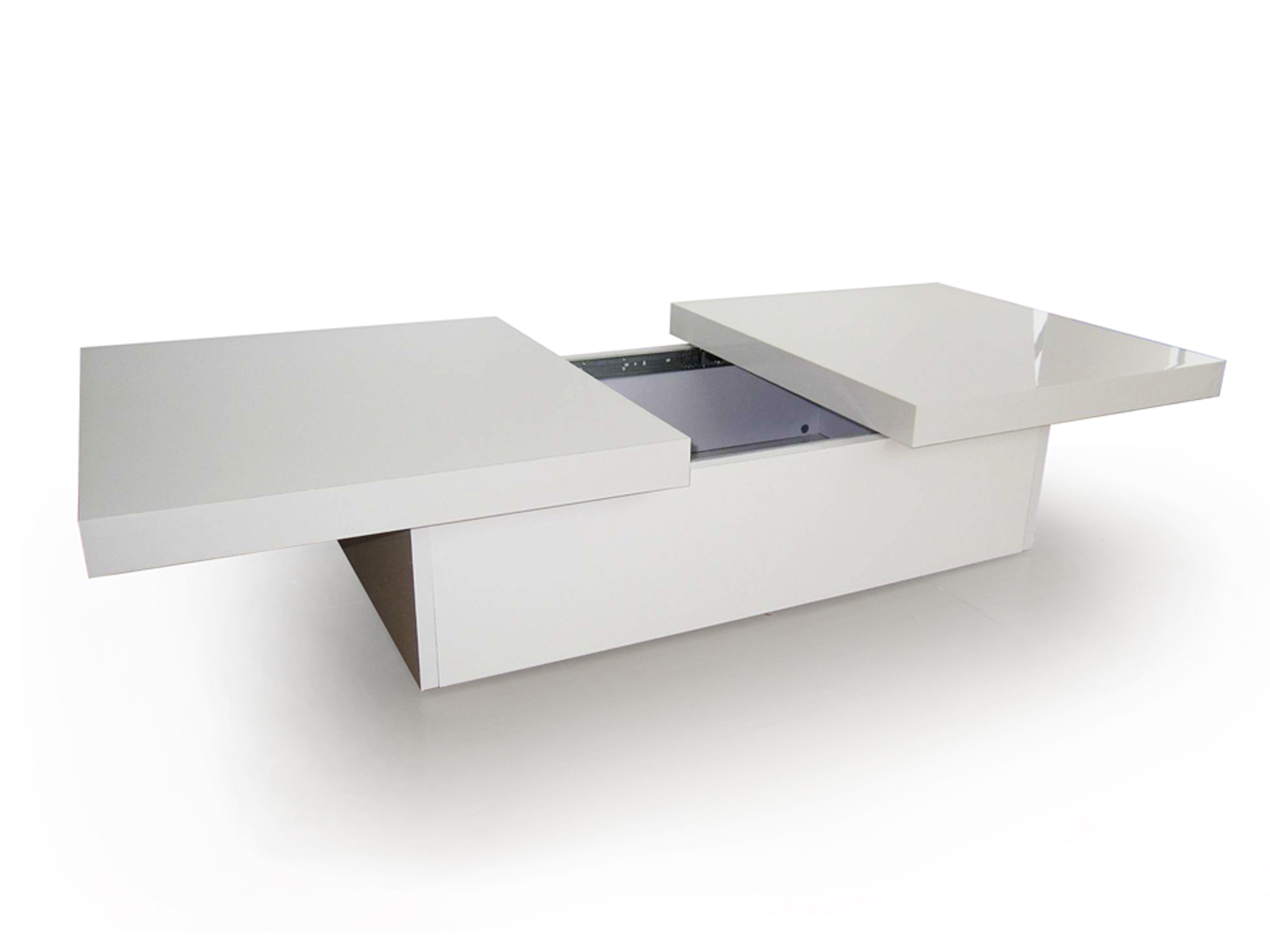 Ligne tango blanche ubaldi table basse Table basse personnalisee photo