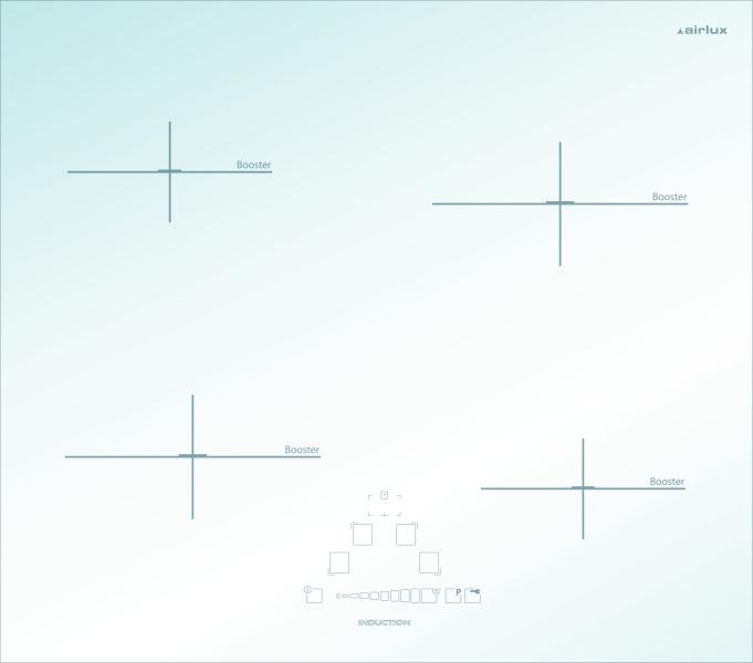 Airlux ati632wh table de lit - Table de cuisson induction blanche ...