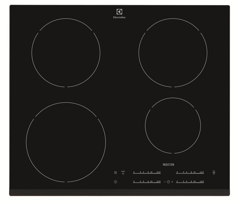 Table de cuisson induction 4 foyers electrolux ehh6540f8k - Table de cuisson induction electrolux ...