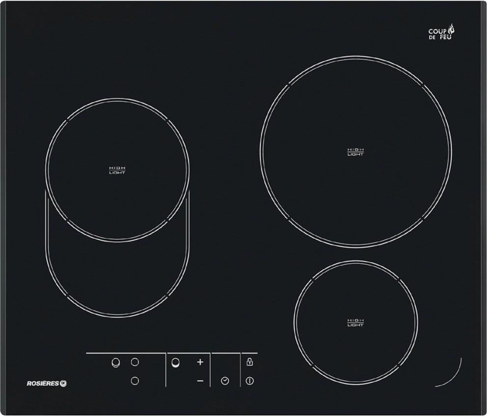 Rosieres rve 632 - Table de cuisson vitroceramique de dietrich ...