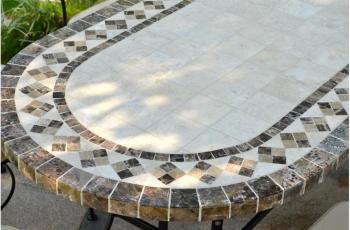 Beton table jardin maisons du monde beton table maisons du - Table beton maison du monde ...
