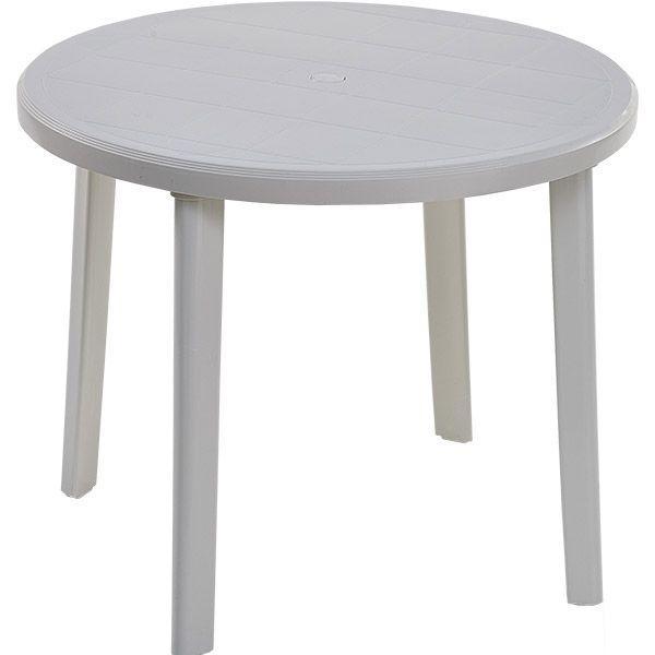 Catgorie table de jardin du guide et comparateur d 39 achat - Table de jardin ronde en resine blanche ...