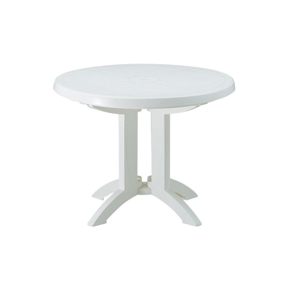 Table de jardin vega blanc des id es int ressantes pour la conception de des Salon de jardin grosfillex vega blanc