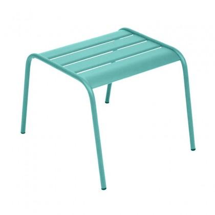 Fermob ctable basse monceau couleur bleu lagune - Table jardin couleur rennes ...