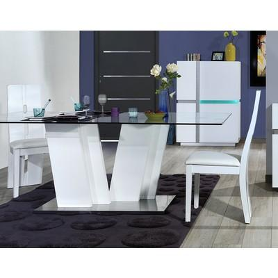 Pied de table guide d 39 achat - Table salle a manger design pied central ...