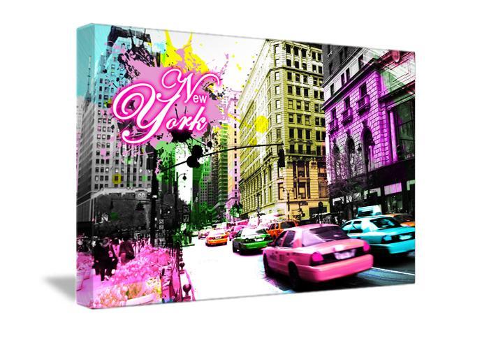 Cat gorie tableaux dartiste du guide et comparateur d 39 achat for Decoration murale new york