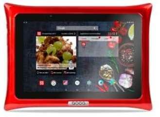 tablette android qooq v4 rouge. Black Bedroom Furniture Sets. Home Design Ideas