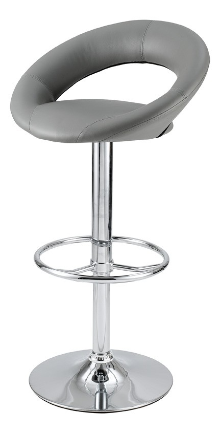 id tabouret de bar gris louise lot de 2 clik. Black Bedroom Furniture Sets. Home Design Ideas