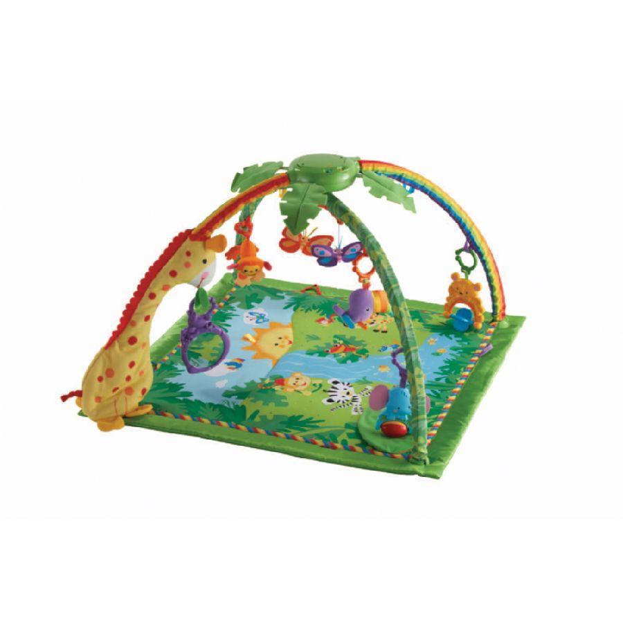 Cat gorie tapis d veil du guide et comparateur d 39 achat - Fisher price tapis eveil jungle ...