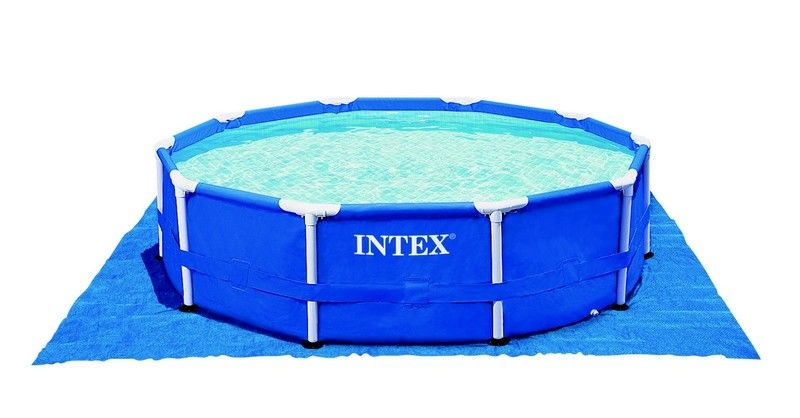 Intex tapis de sol piscine for Accessoire piscine 74