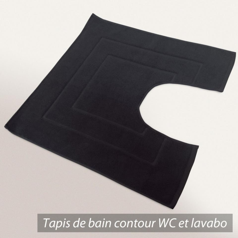 tapis salle de bain et contour wc tapis de bain ou. Black Bedroom Furniture Sets. Home Design Ideas