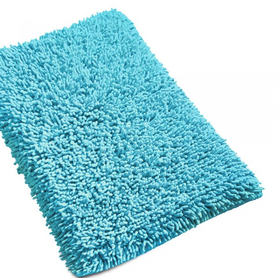 Catgorie tapi salle de bain du guide et comparateur d 39 achat for Tapis bleu turquoise