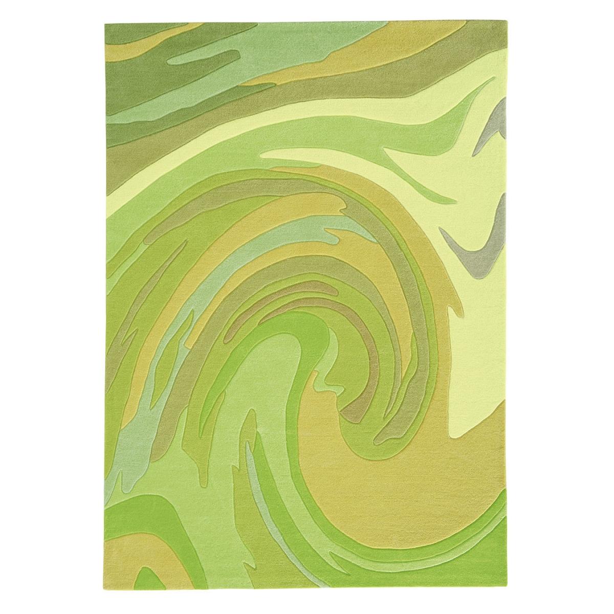 arte tapis de salon action painting par espina vert 12. Black Bedroom Furniture Sets. Home Design Ideas