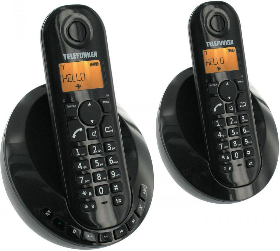telefunken tb 252 catgorie tlphone sans fil. Black Bedroom Furniture Sets. Home Design Ideas