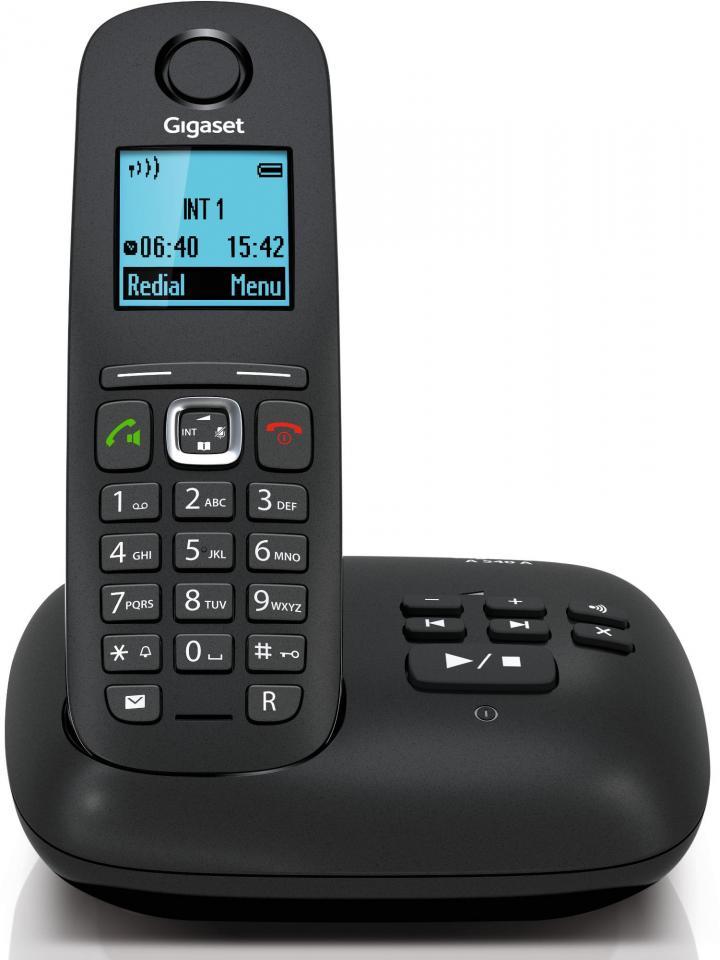 Gigaset da710 tlphone filaire avec id dappelant - Telephone sans fil avec repondeur pour senior ...
