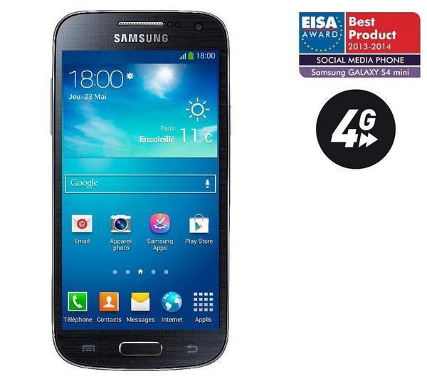Samsung i9195 galaxy s4 mini noir smartphone - Comparateur de prix samsung galaxy s4 ...