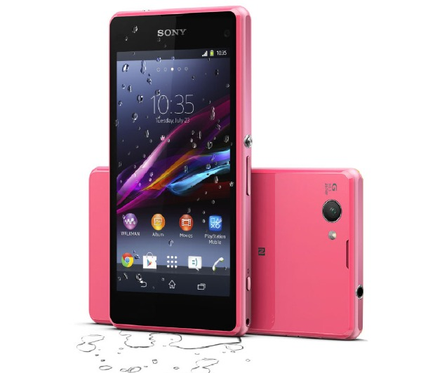 sony xperia z1 compact rose 16 go 4g smartphone. Black Bedroom Furniture Sets. Home Design Ideas